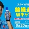 錦織圭選手応援Wキャンペーン!