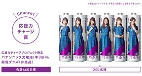 乃木坂46応援力チャージプロジェクト  プレゼントキャンペーン