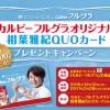 カルビーフルグラ® オリジナル相葉雅紀QUOカードプレゼントキャンペーン!